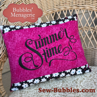 Summertime pillow