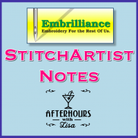 StitchArtist Notes